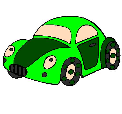 Desenho De Carro De Brinquedo Pintado E Colorido Por Usuário