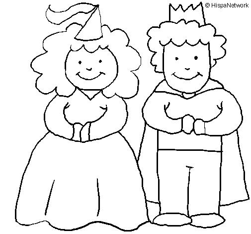 Princesa e rei
