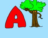 Desenho Árvore pintado por çlkjiy