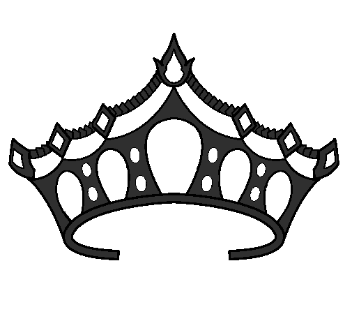 desenho de tiara pintado e colorido por usuário não registrado o dia