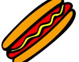 Desenho Frankfurter pintado por HOT DOG