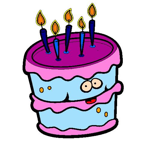 Bolo de aniversário 2