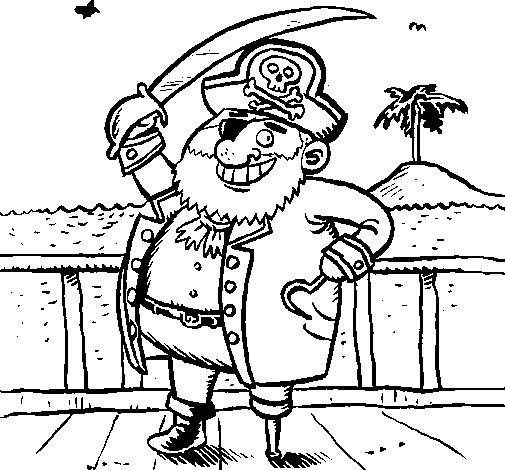 Pirata a bordo