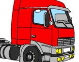 Desenho Camião pintado por caminhão