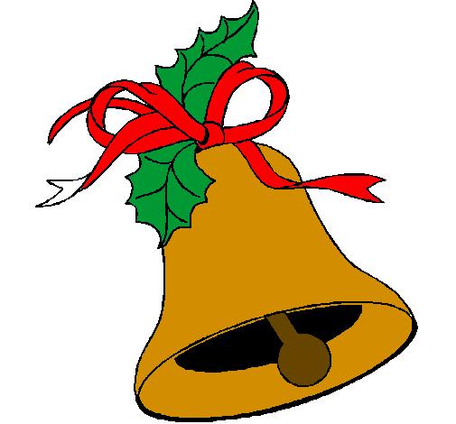 desenho de sino de natal pintado e colorido por usuário não