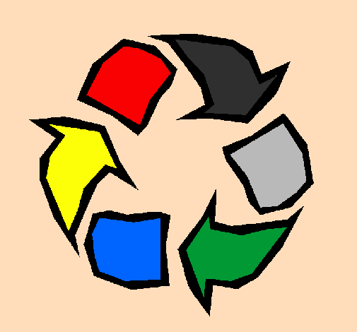 Desenho De Reciclar Pintado E Colorido Por Usuario Nao Registrado O