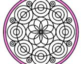 Desenho Mandala 35 pintado por renesme