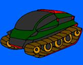 Desenho Nave tanque pintado por alan