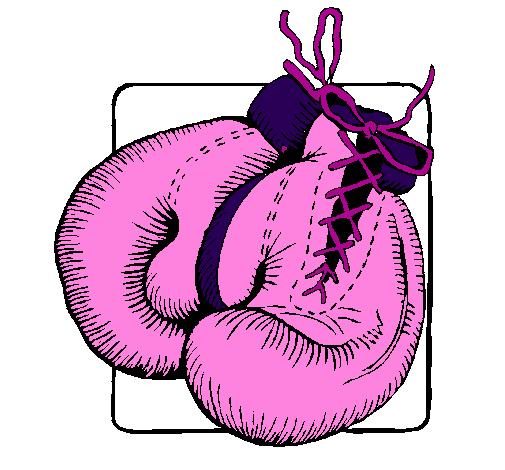Desenho de luvas de boxe pintado e colorido por usu rio n o registrado o dia 08 de dezembro do 2010 - Dessin gant de boxe ...