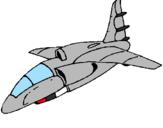 Desenho Nave a aterrar pintado por wuesley