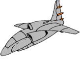 Desenho Nave a aterrar pintado por ismael