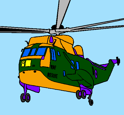 Helicoptero de resgate