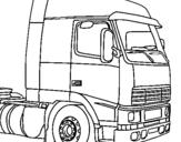 Desenho Camião pintado por caminhao