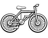 Desenho Bicicleta pintado por nici