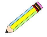 Desenho Lápis II pintado por lápis