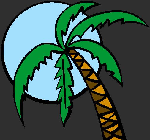 Desenho Verão pintado por Luar