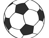 Desenho Bola de futebol II pintado por meg