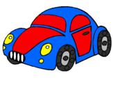 Desenho Carro de brinquedo pintado por carrinho