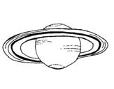 Desenho Saturno pintado por nnnnnnnnn