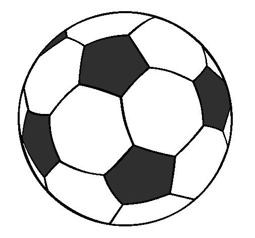 Desenho de Bola de futebol II pintado e colorido por Usuário não ... 950b174c8ef6a