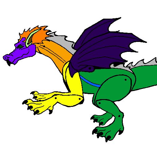 Dragão feroz