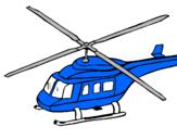Desenho Helicoptero  pintado por pokémon