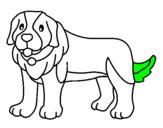 Desenho Cão pigmento pintado por BEN 10