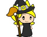 Desenho Terebintina bruxa pintado por Bruxinha