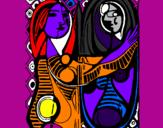 Desenho Personagens mágicas pintado por hercules