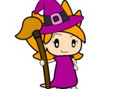 Desenho Terebintina bruxa pintado por giulia prado hua
