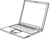 Desenho Portátil pintado por Notebook