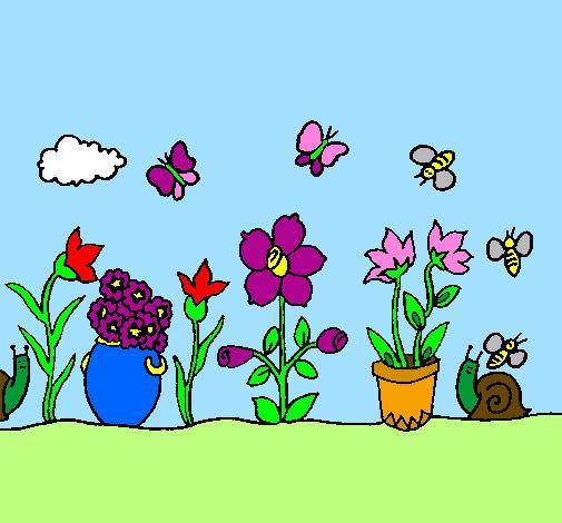 fotos de um jardim lindo : fotos de um jardim lindo:de Jardim pintado e colorido por Usuário não registrado o dia 25 de