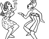 Procurar mulheres dançando