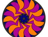 Desenho Mandala 27 pintado por xxt bonde da stronda