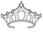 Desenho Tiara pintado por Coroa de Princesa