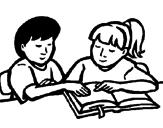 Desenho Estudantes pintado por ESTUDANDO