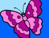 Desenho Borboleta pintado por Prii