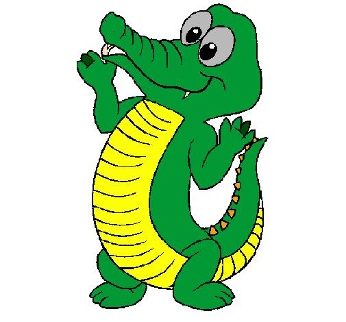Crocodilo bébé