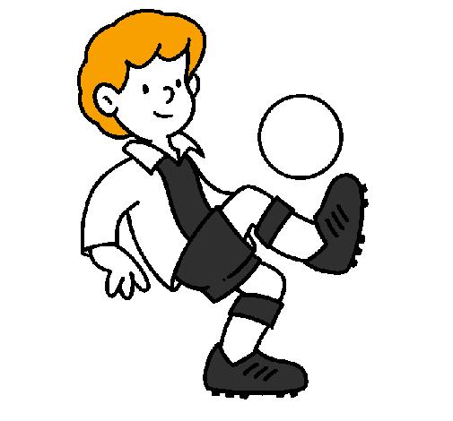 desenho de futebol pintado e colorido por usuário não registrado o