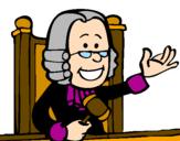 Desenho Juiz pintado por Mimi