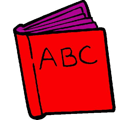 Desenho Dicionário pintado por bela