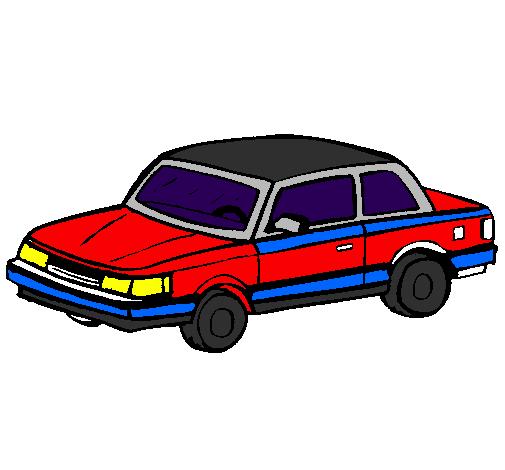 Desenho Automóvel clássico pintado por Habbo