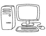 Desenho Computador 3 pintado por homem aranha