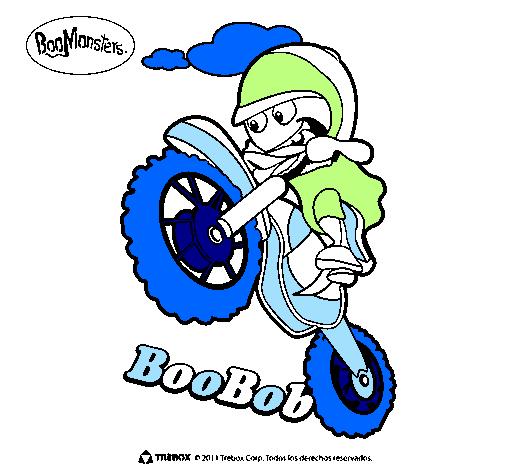 Desenho BooBob pintado por Motocross
