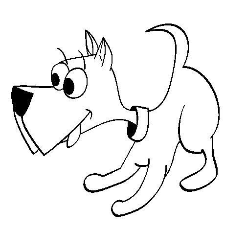 desenho de cachorro iii pintado e colorido por usuário não