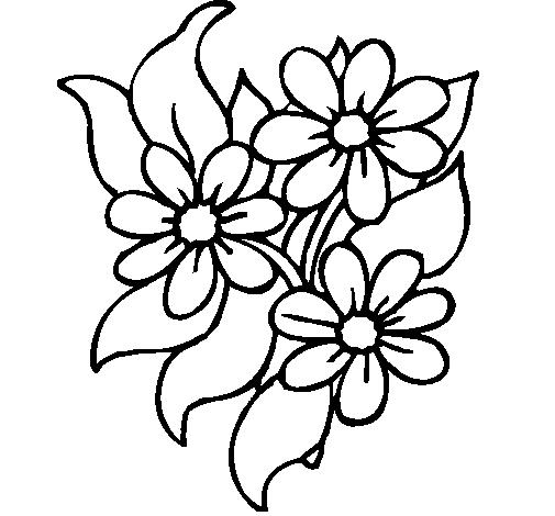 Desenho De Florzitas Pintado E Colorido Por Usuário Não