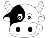 Desenho Vaca pintado por Boi Bumba