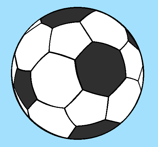 62a37da74ec0c Desenho De Bola De Futebol Ii Pintado E Colorido Por Usuario Nao