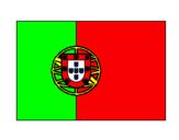 Desenho Portugal pintado por andra
