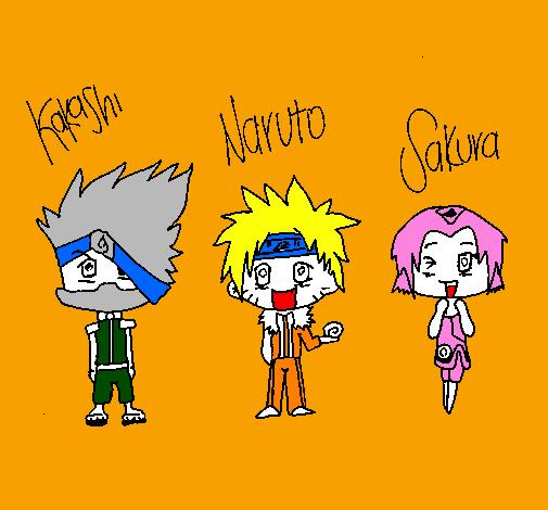 Naruto Colorido ~ Desenho de Naruto pintado e colorido por Usuário n u00e3o registrado o dia 18 de Agosto do 2011